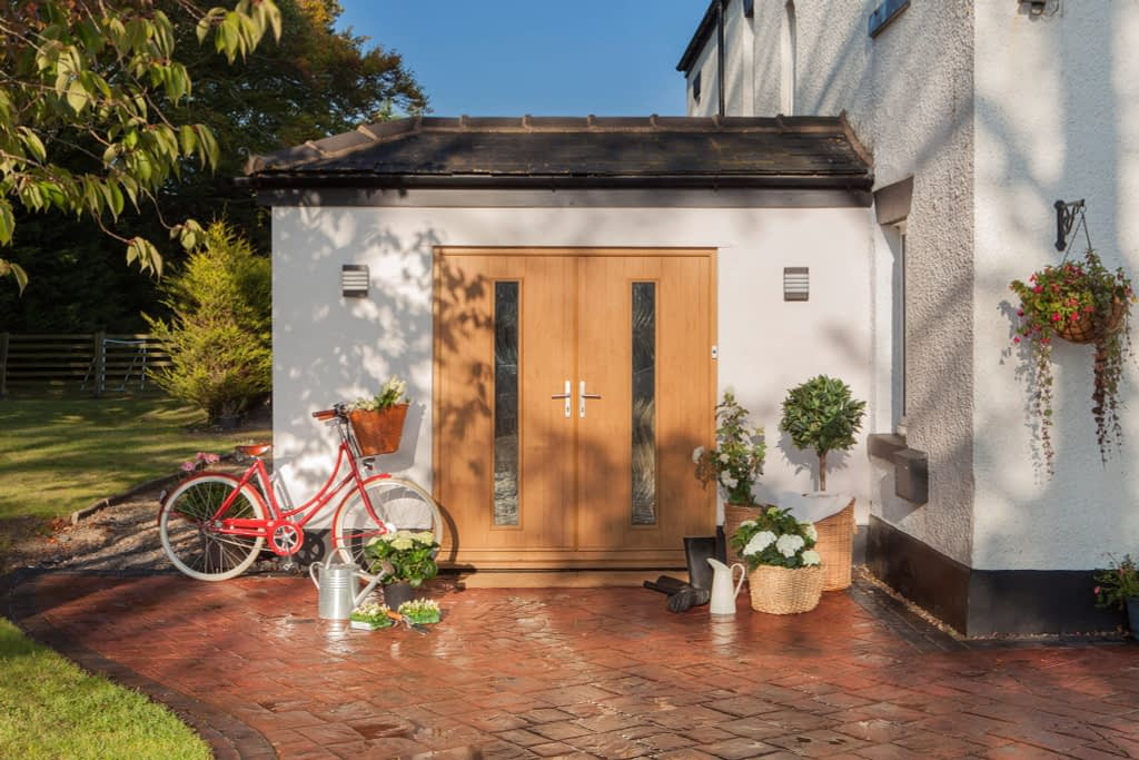 Composite Door available from Highseal Manufacturing Company. This style and range is available from Solidor. Composite doors come in different colours and styles.