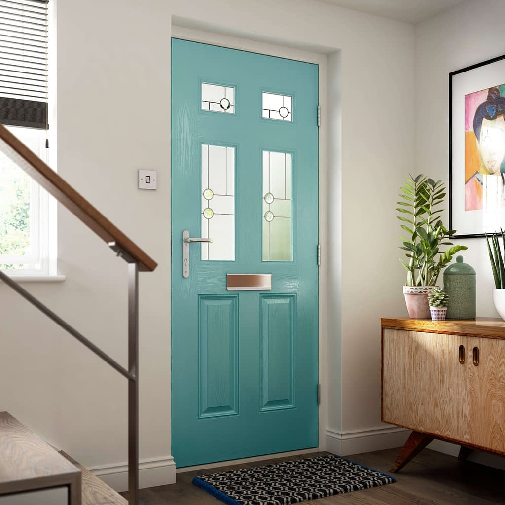 Composite Doors available from Highseal Manufacturing Company. This style and range is available from Distinction doors. Composite doors come in different colours and styles. Send your enquiry to Highseal and we would be happy to help.