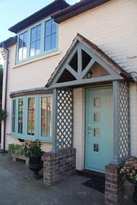 Chartwell green Composite door and windows, a range of composite doors and windows offered by Highseal Manufacturing.