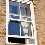 Cream pvc vertical slider windows available from Highseal Manufacturing. Brochures available to download and hardcopy to view the different range of PVC windows Highseal Manufacturing can manufacture.